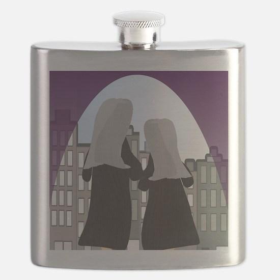 nun blanket 2 Flask