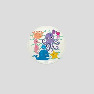 Undersea Adventure Mini Button