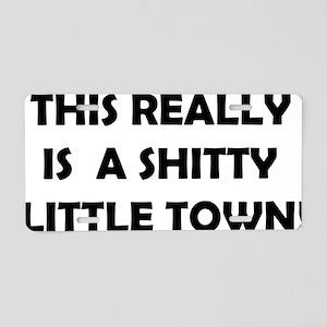 Little town Aluminum License Plate