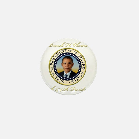Keepsake President Obama Re-Election Mini Button