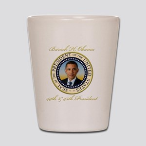 Keepsake President Obama Re-Election Shot Glass