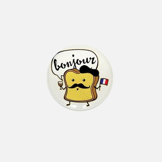 French Toast Mini Button
