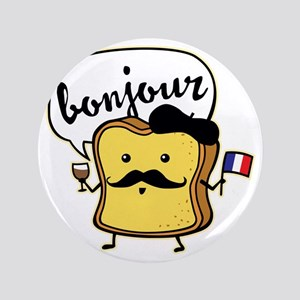 "French Toast 3.5"" Button"