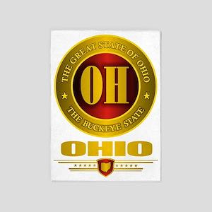 Ohio Gold Label 5'x7'Area Rug