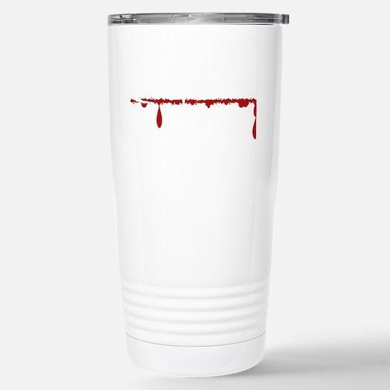Firefighter Zombie Stainless Steel Travel Mug