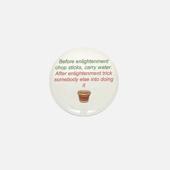 Enlightenment trick Mini Button
