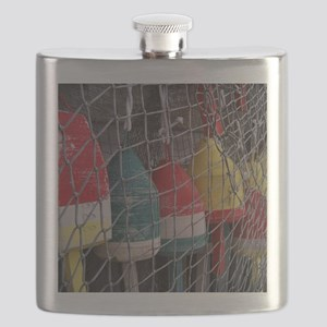 Netted Lobster Buoys Flask