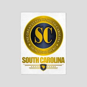 South Carolina Gold Label 5'x7'Area Rug