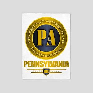 Pennsylvania Gold Label 5'x7'Area Rug