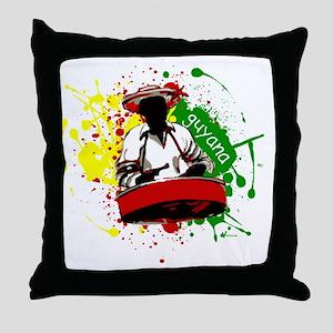 Pan Man Throw Pillow