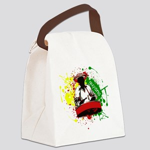 Pan Man Canvas Lunch Bag
