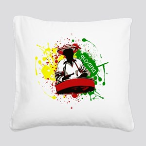 Pan Man Square Canvas Pillow