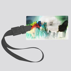 7 Seven Horses Large Luggage Tag