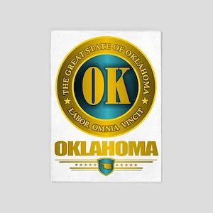 Oklahoma Gold Label 5'x7'Area Rug