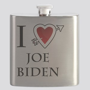 i love Joe Biden heart  Flask