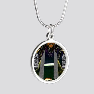 Keep the Law...Moses Silver Round Necklace