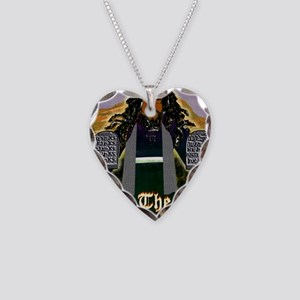 Keep the Law...Moses Necklace Heart Charm