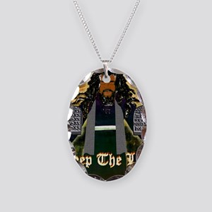 Keep the Law...Moses Necklace Oval Charm