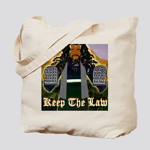 Keep the Law...Moses Tote Bag
