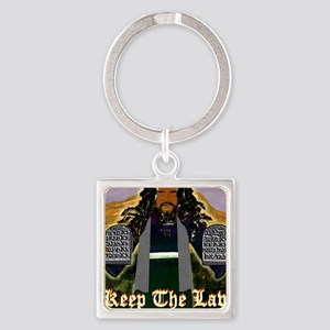 Keep the Law...Moses Square Keychain