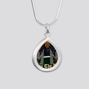 Keep the Law...Moses Silver Teardrop Necklace
