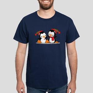 Cute Penguins (9) Dark T-Shirt