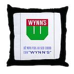Wynn's Throw Pillow