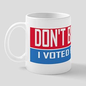 I Voted for Mitt Mug