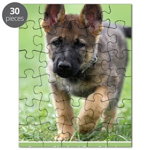 German Shepherd Puzzles Cafepress