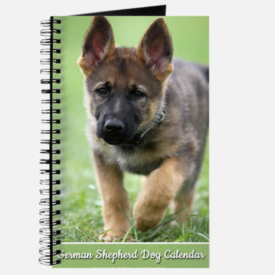 German Shepherd dog puppy Journal