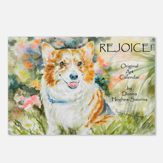 Rejoice! Calendar by Donn Postcards (Package of 8)