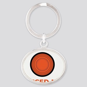 Missed Me Oval Keychain