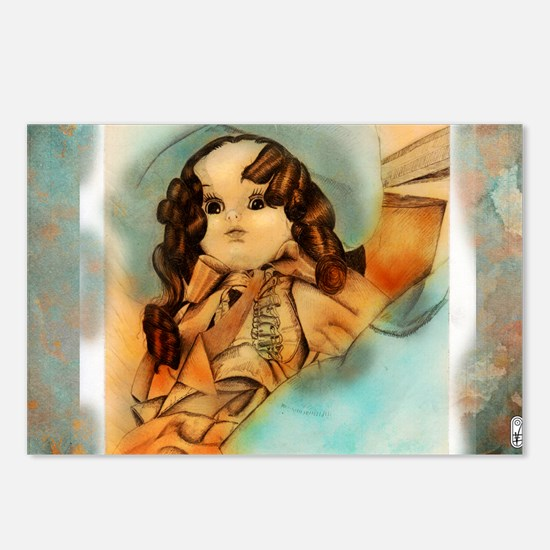 Doll 13 23x25 Postcards (Package of 8)