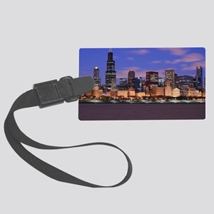 Morning Clouds Large Luggage Tag