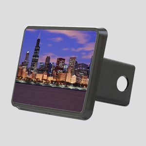 Morning Clouds Rectangular Hitch Cover