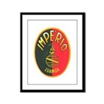 Hotel Imperio, Luanda Framed Panel Print