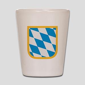 Bavaria flag Shot Glass