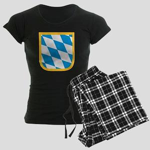 Bavaria flag Women's Dark Pajamas