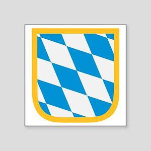 """Bavaria flag Square Sticker 3"""" x 3"""""""