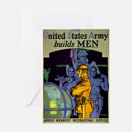 The United States Army Builds Men - Herbert Andrew