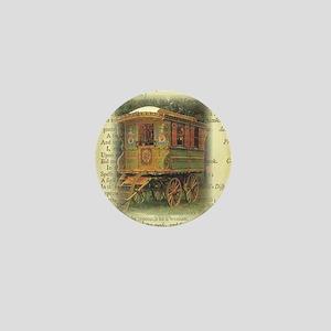 gypsy wagon 2 Mini Button