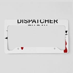 Dispatcher Zombie License Plate Holder
