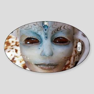 Salimar Alien Shell 3 Sticker (Oval)