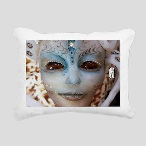 Salimar Alien Shell 3 Rectangular Canvas Pillow
