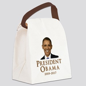 Obama 09-17 Canvas Lunch Bag