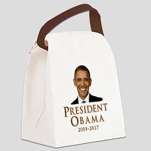 Obama 09-17 Canvas Lunch Bag