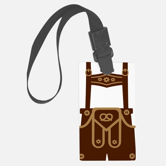 Leather trousers Luggage Tag