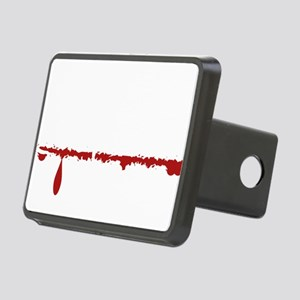 Hair Stylist Zombie Rectangular Hitch Cover