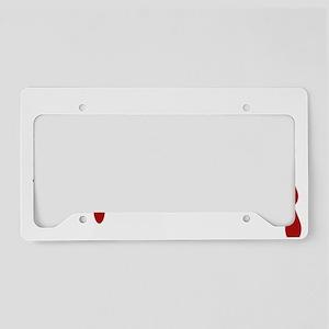 Graphic Designer Zombie License Plate Holder
