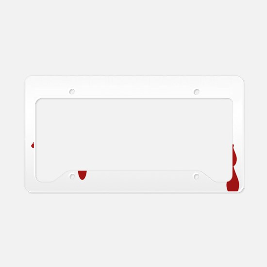 Graphic Designer Zombie License Plate Holder